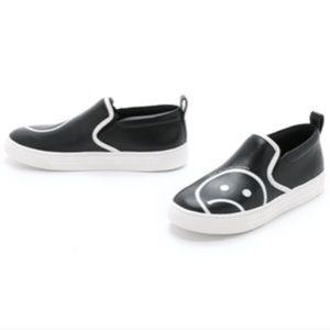 MARC JACOBS sadface broome slip on sneakers